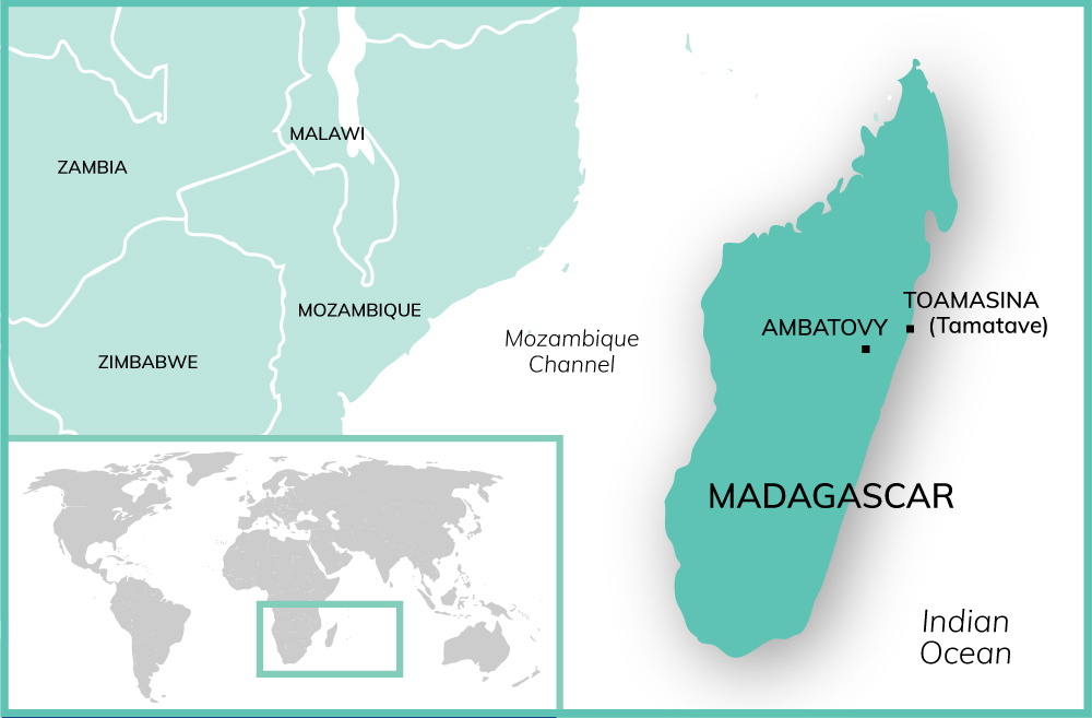Map Madagascar